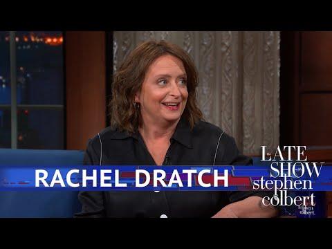 Rachel Dratch Talks Improv Over Red Wine With Colbert Youtube Rachel Colbert Red Wine