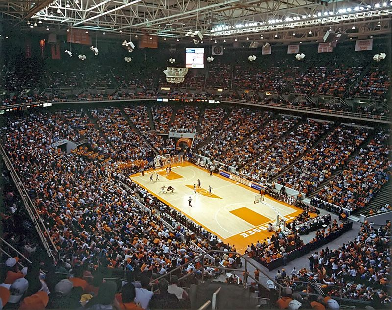 Thompson Boling Arena Knoxville Tn University Of
