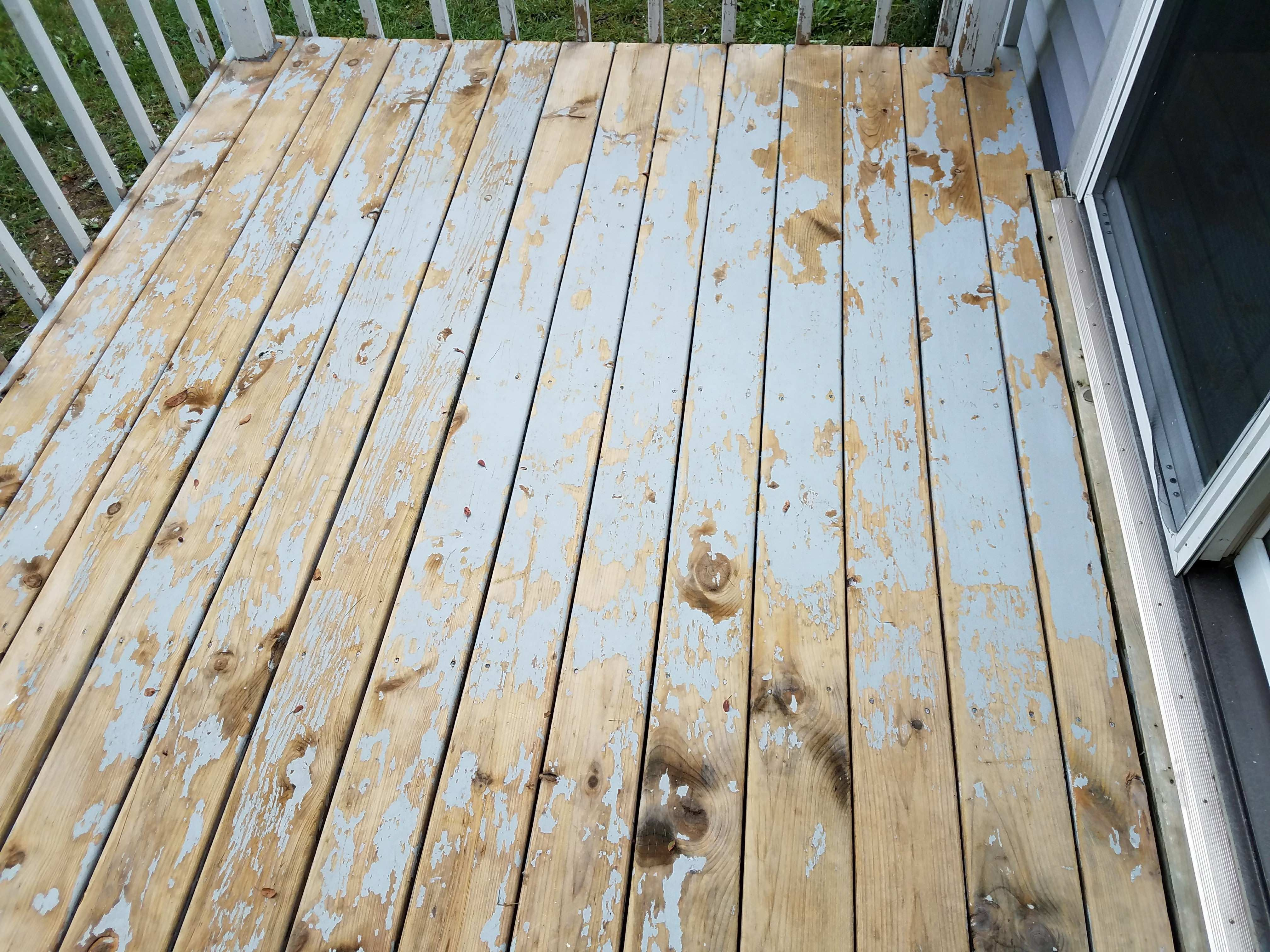 How Do I Strip Acrylic Paint Off Wooden Deck Handmade Crafts Howto Diy Decks Stripping