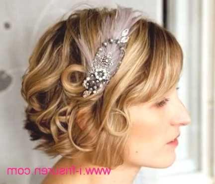 Pin Von Virginia Sexton Auf Hair Brautfrisur Kurze Haare Locken
