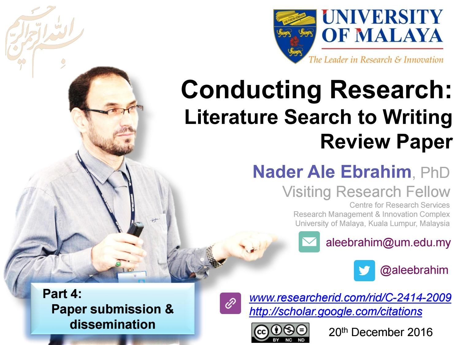 Conducting Research Literature Search To Writing Review Paper Part 4 Paper Submission Dissemina Literature Search Paper Writing Service Essay Writing Help