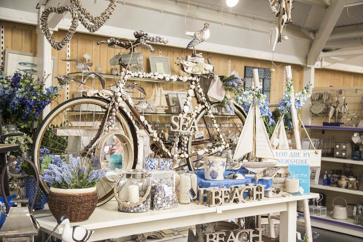We decorated bikes when the Tour de France went through