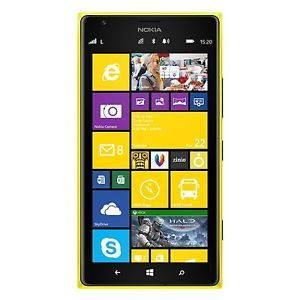 74a3829d9663bd Nokia Lumia 1520 16GB Unlocked GSM Yellow Windows Phone  294.99 ...