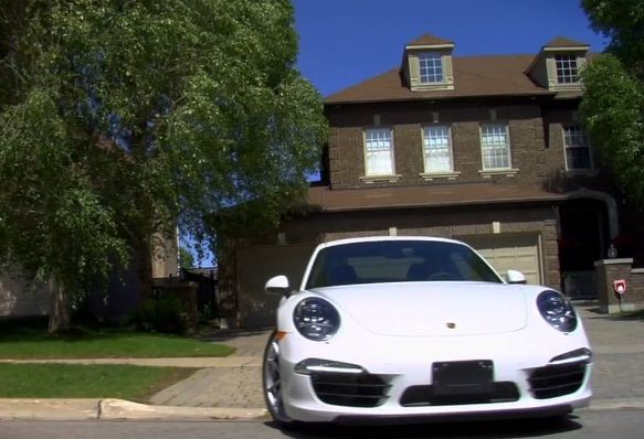 Great stunt from Porsche in Toronto, using direct marketing to drive test drives