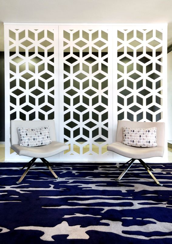 Classic Geometric Pattern For Contemporary Office Bespoke