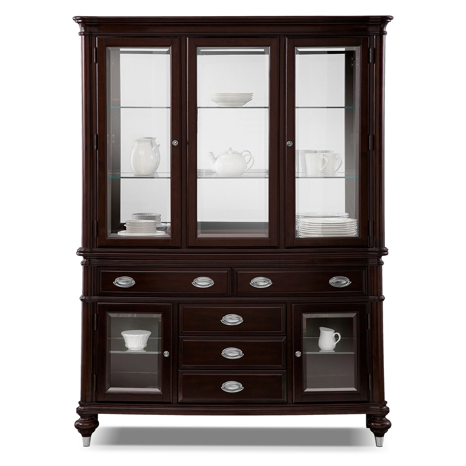 Dining Room Furniture Hutch Magnificent Esquire Buffet And Hutch  Value City Furniture  Our New House Decorating Design