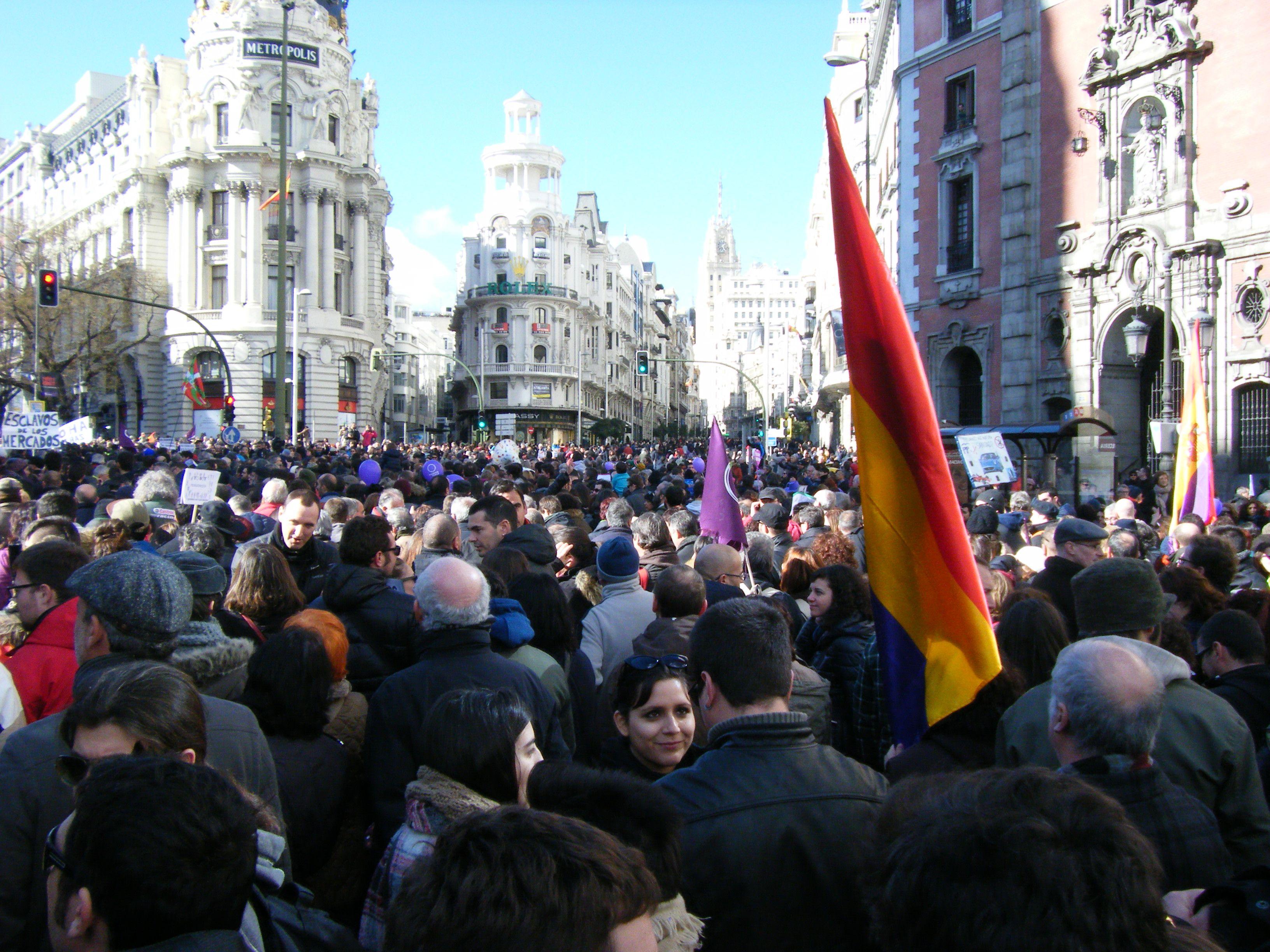 La Marcha por el Cambio 31E (5)  Madrid 31/01/2015  Autor: J.Valero