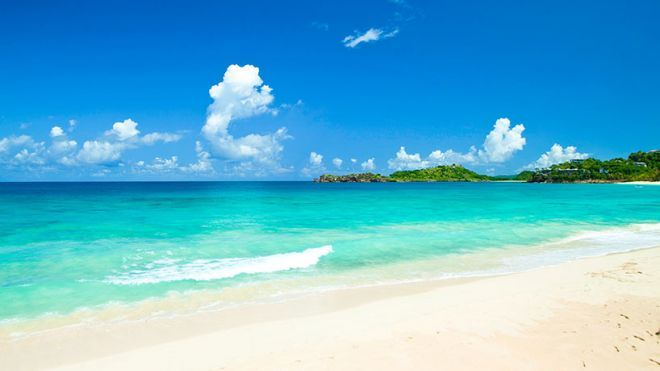 The Prettiest Beaches In Caribbean Fox News Featured Galley Bay Beach Antigua