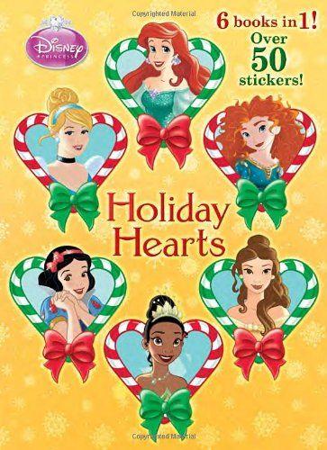 Holiday Hearts Disney Princess Jumbo Coloring Book Niftywarehouse