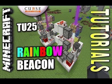Minecraft Ps4 Rainbow Beacon How To Tutorial Ps3 Xbox Wii Minecraft Ps4 Minecraft Minecraft Tutorial