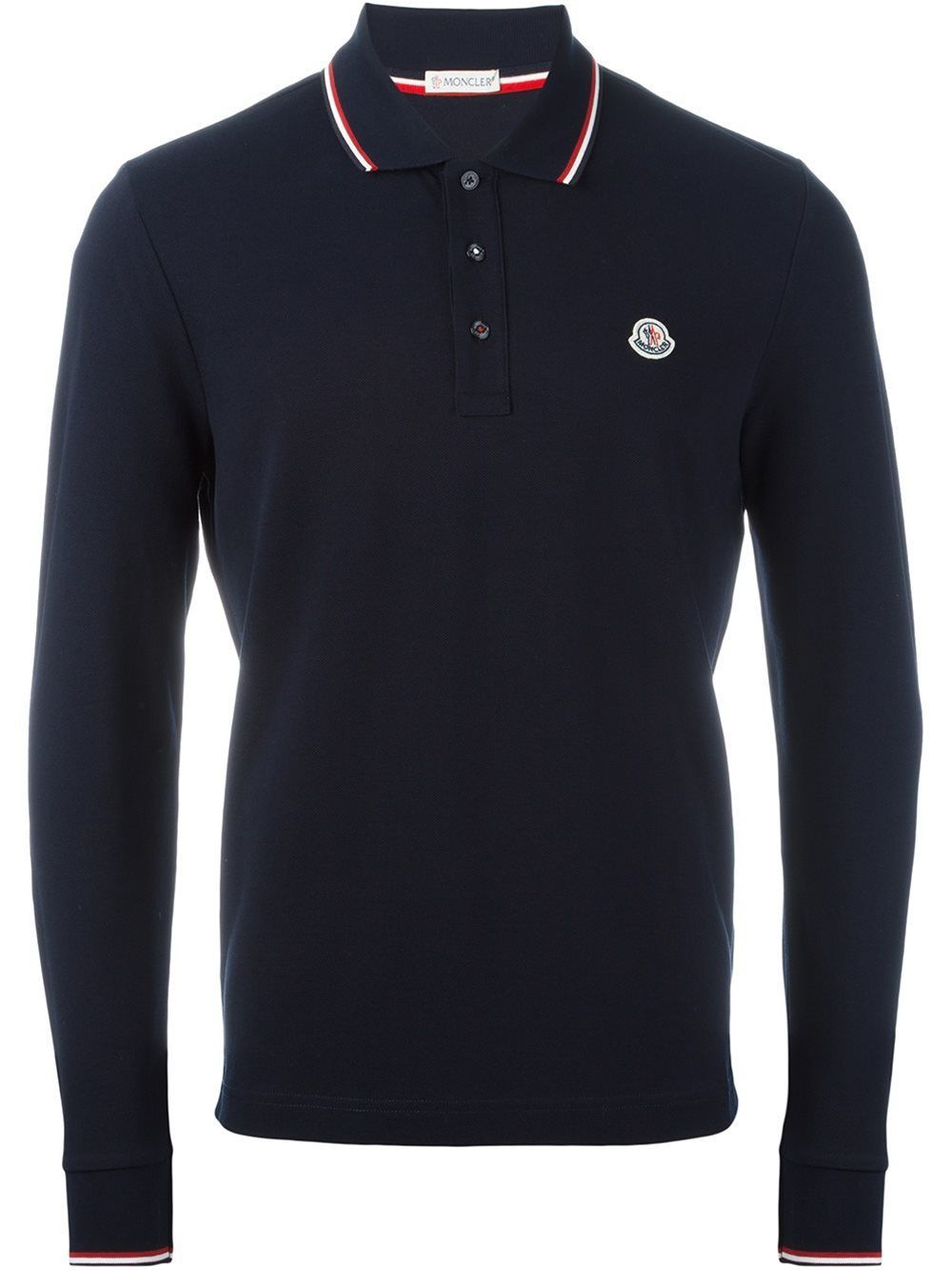 a65e0a2174cf MONCLER LONG SLEEVED POLO SHIRT.  moncler  cloth