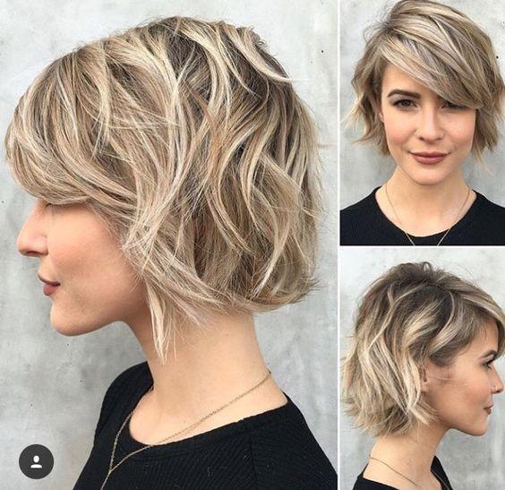 Kurzhaarfrisuren Damen Frisuren Kurze Haare 2019 Frisuren Kurzhaarfrisuren Kurzhaarfrisuren 201 Short Hair Styles Short Hair Trends Choppy Bob Hairstyles