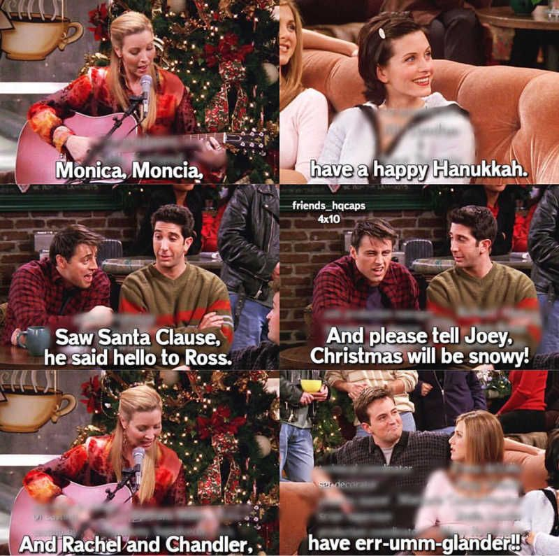 Best Christmas Song Ever Friends Quotes Tv Show Friends Quotes Funny Friend Jokes
