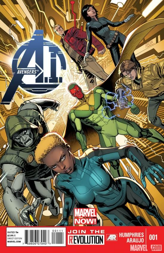 Avengers A.I.: http://marvel.com/news/story/20380/avengers_ai. On the one hand, VICTOR <3, on the other, I guess between this & Avengers Arena we won't be getting more Runaways anytime soon? Should I just give up on this dream? It's never going to happen, is it?