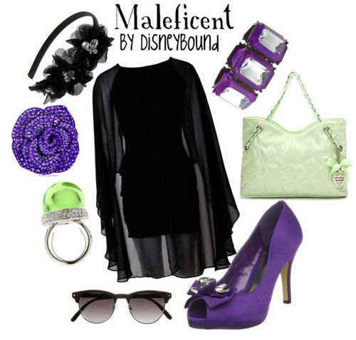 Maleficent Inspired Outfit Creation Fashion Disney