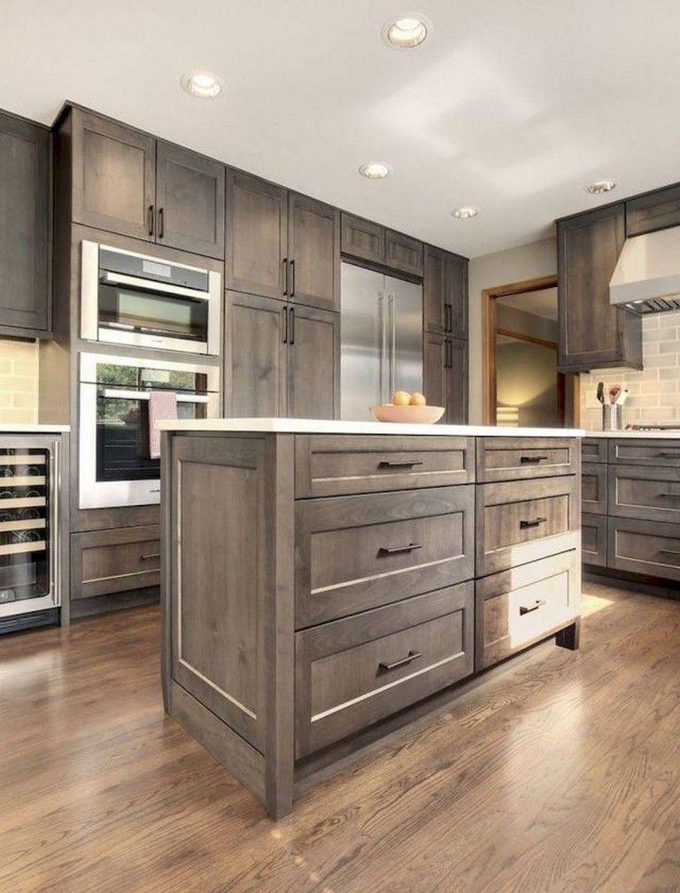 Best 70 Beautiful Farmhouse Kitchen Cabinet Makeover Ideas 400 x 300