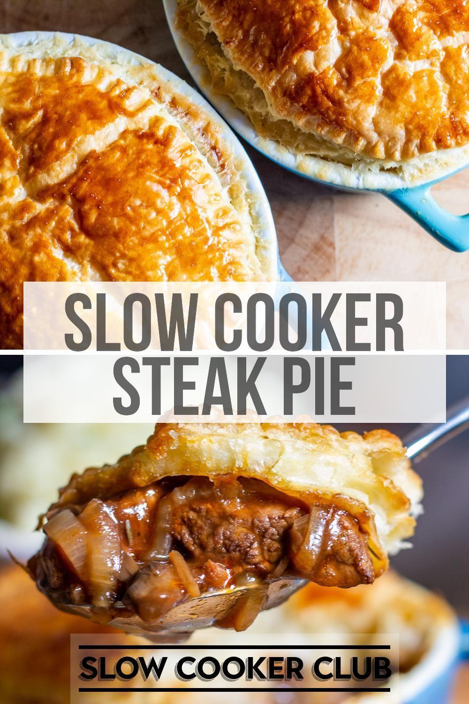 Slow Cooker Steak Pie | Recipe in 2020 | Slow cooker ...