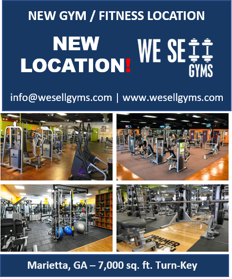 MULTIPLE NEW GYM LOCATIONS Marietta GA., Smyrna GA