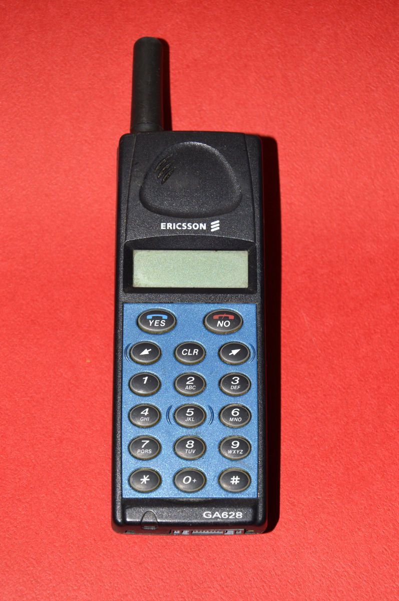 Mobil Telefon Vintage Ericsson Ga628 Gsm Cell Phone Collectible Mobile Phone