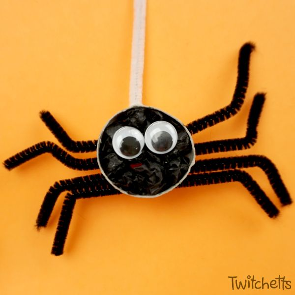 How To Make Fun Crepe Paper Spiders In 2018 Twitchetts Pinterest