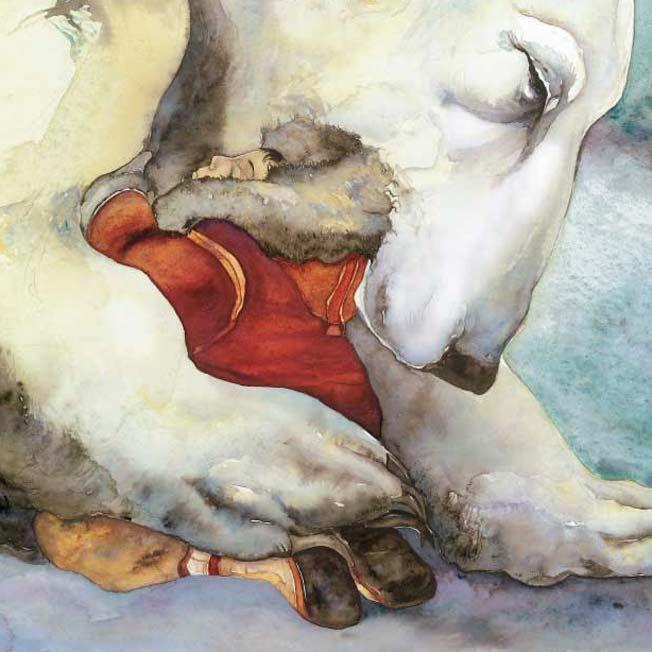 The Ice Bear by Jackie Morris | Bear art, Polar bear art ...