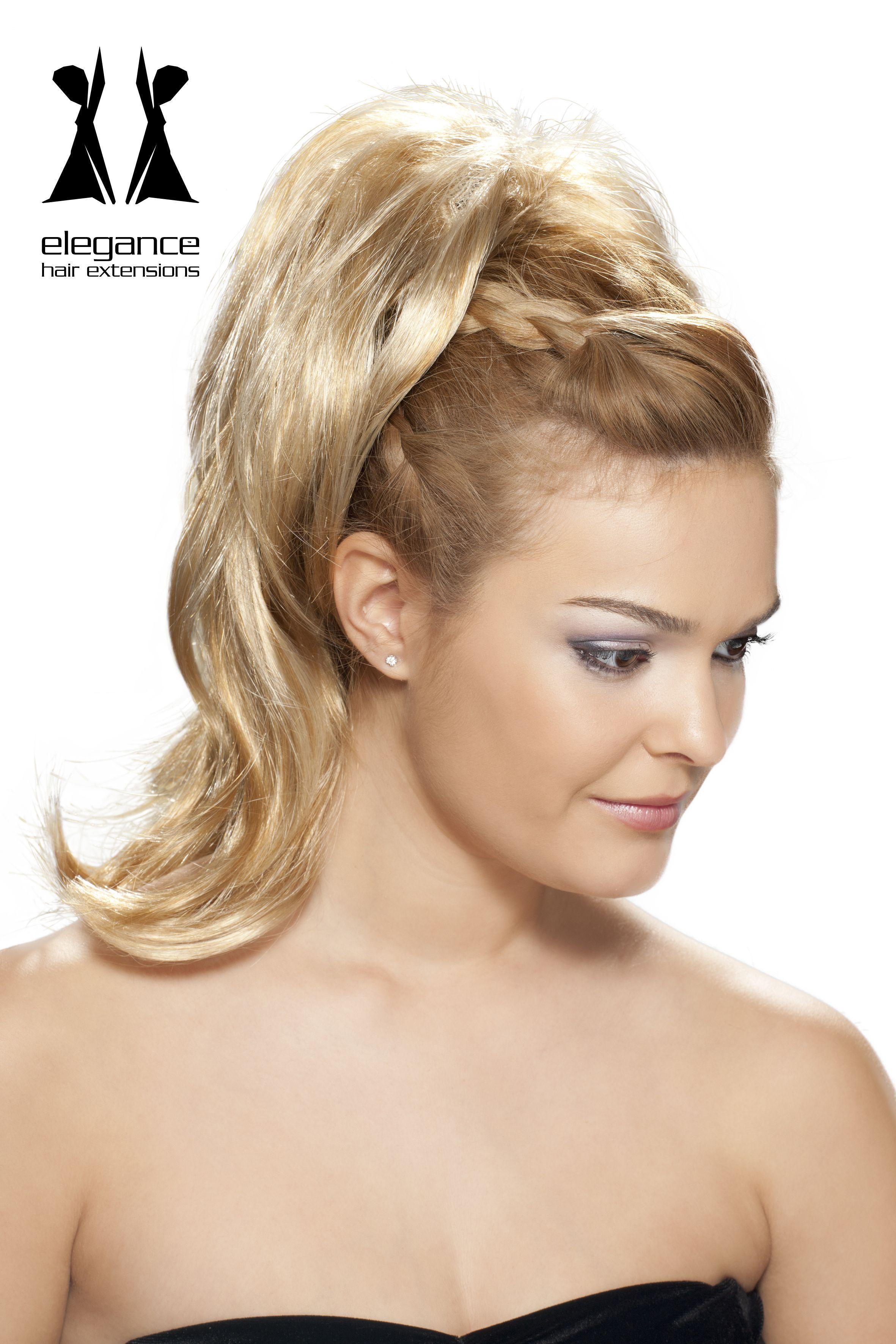Fotos de peinados con postizos