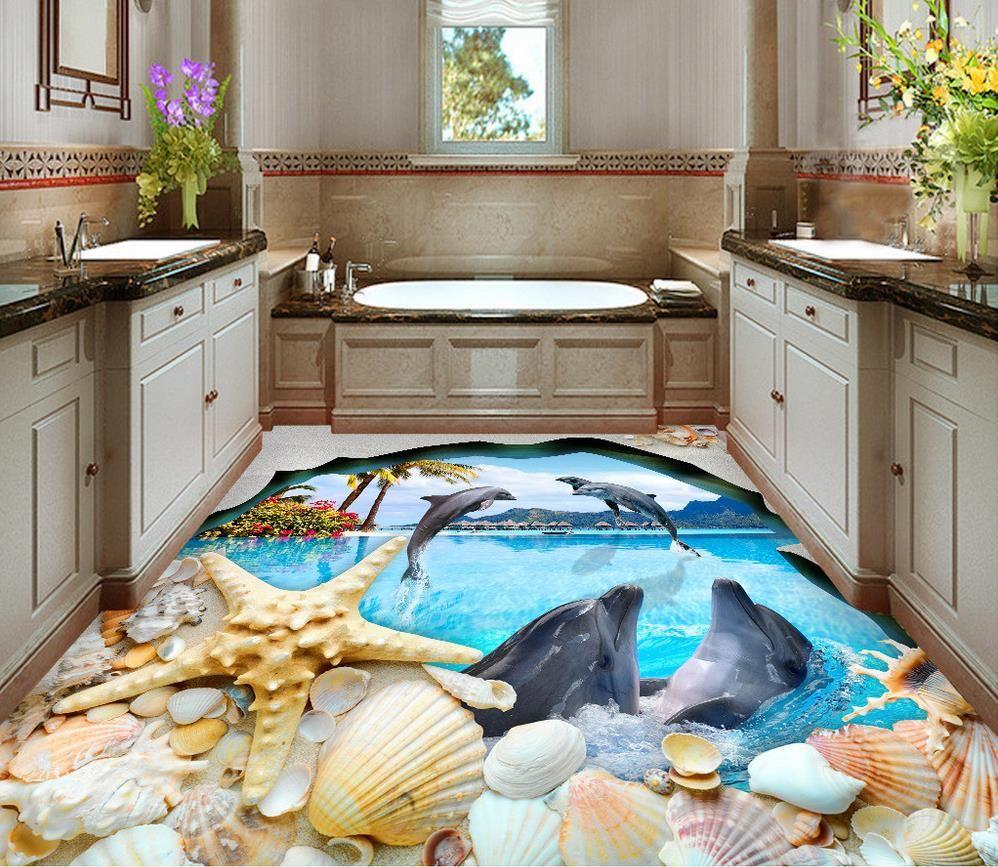 Buy 3d flooring wallpaper custom for 3d flooring uk