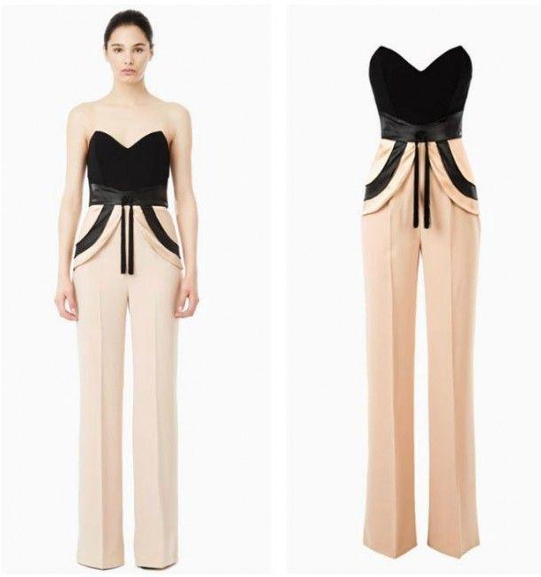 low priced 6735a 5dd00 Tuta elegante da sera con corpetto bustier Elisabetta ...