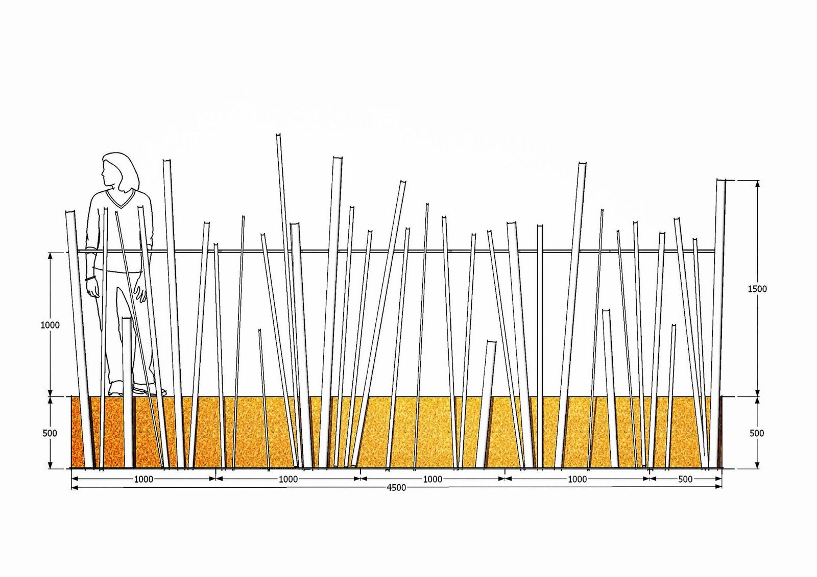 ferronnerie m tallerie serrurerie 79 deux s vres l 39 art du fer play garde corps bambou d 39 acier. Black Bedroom Furniture Sets. Home Design Ideas