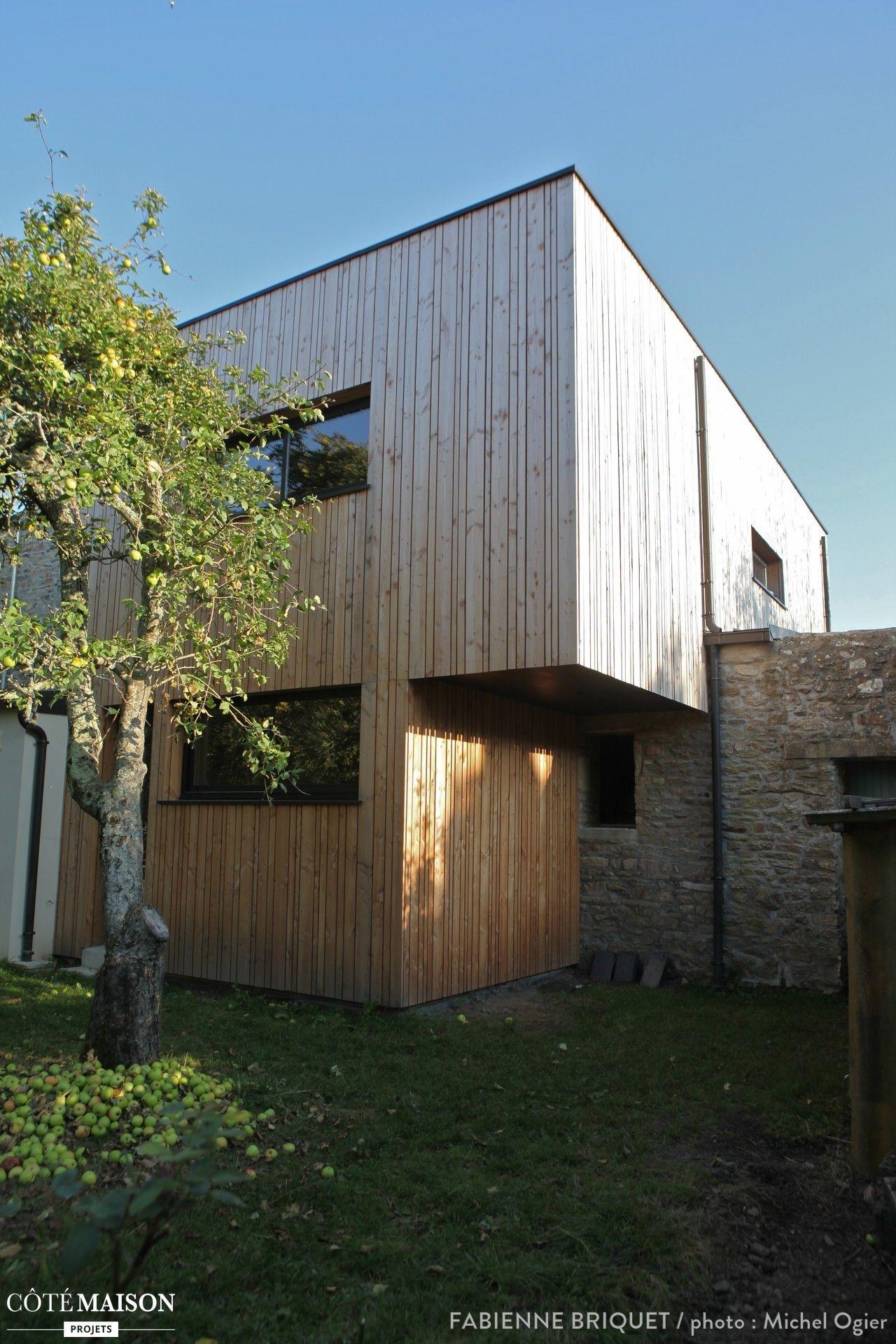 Extension et surélévation dune maison en bois  Maisons d  ~ Surelevation Bois Maison