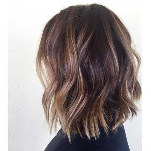 6 Blonde Bob Frisur Balayage Frisur Frisur Dicke Haare Und Frisuren Mittlerer Haarlange