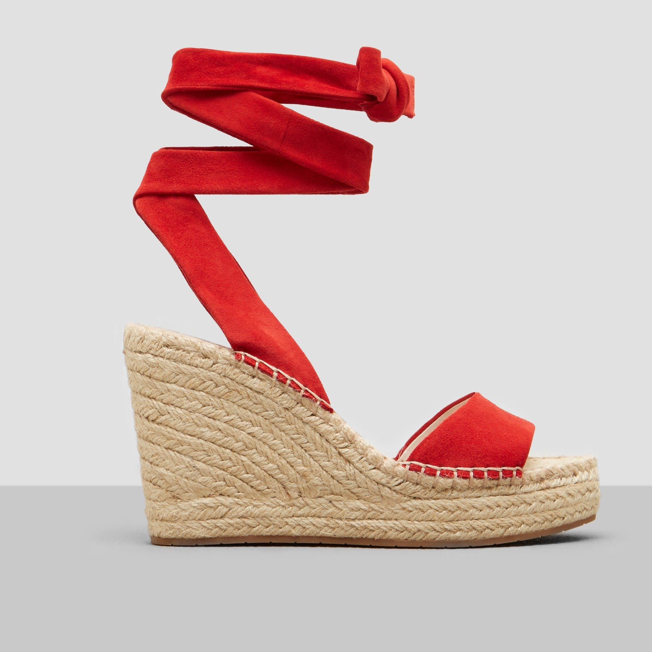 0eb14e994cc ODILE ESPADRILLE WEDGE - RED by KENNETH COLE NEW YORK | shoes ...
