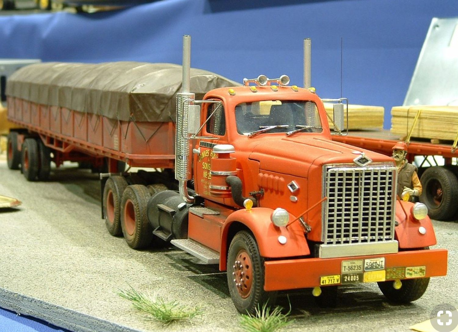 Pin by Tim on Model trucks | Model truck kits, Plastic model