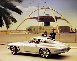 1963 Split Window Corvette at LAX
