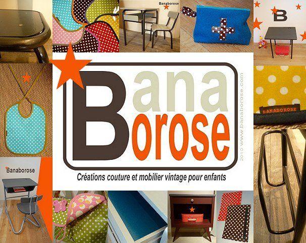 BANABOROSE Mobilier vintage pour enfants - Magicmaman.com
