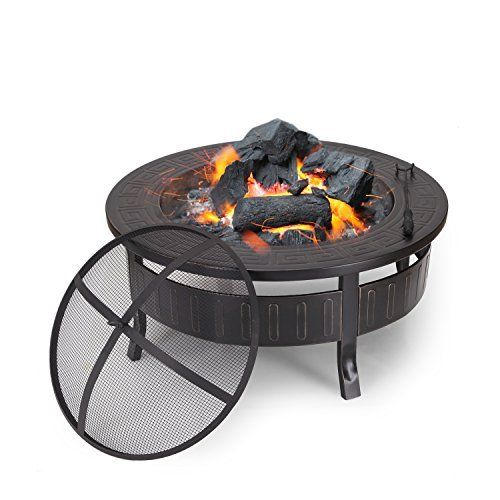 Sunnydaze Heavy Duty Fire Pit Rim Make Your Own In Ground Fire Pit 36 Inch Ins Asador Fuego Proyectos