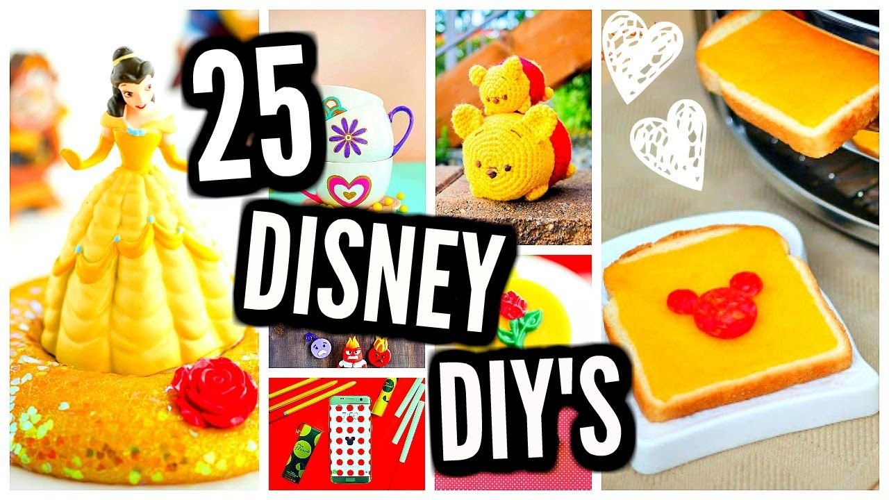 25 diy projects disney room decor slime crafts beauty and the here are 25 diy disney projects youve never seen before this video has disney room decor disney crafts disney beauty and the beast diys diy projects solutioingenieria Choice Image