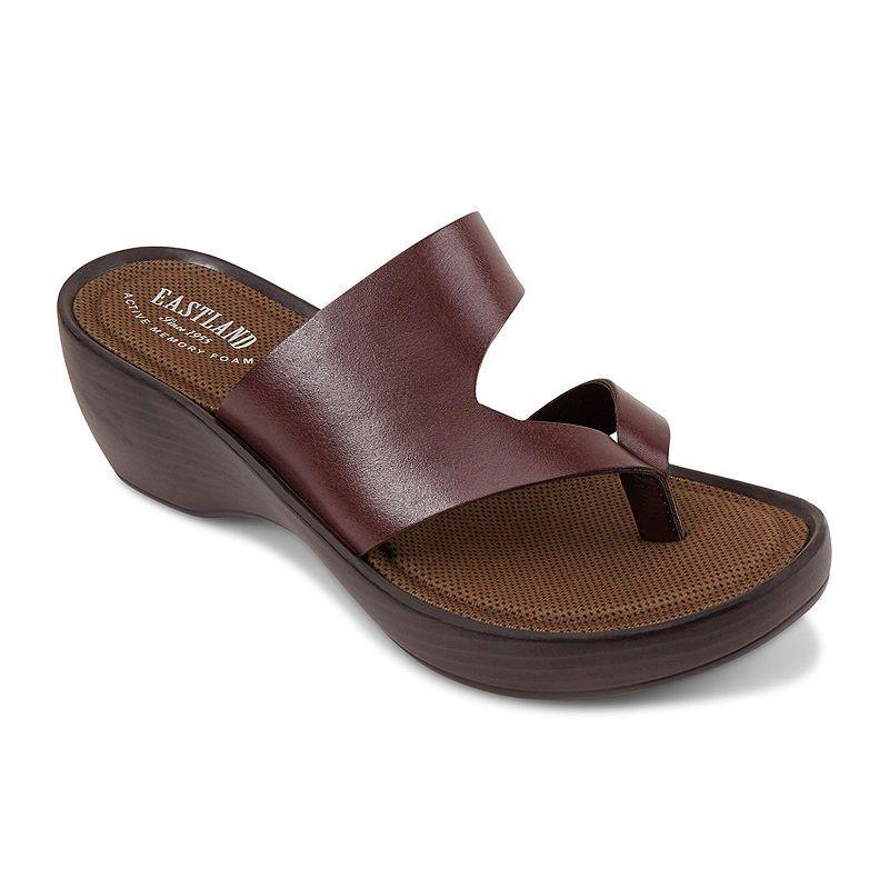 Eastland Laurel Sandals In 2019 Leather Wedge Sandals