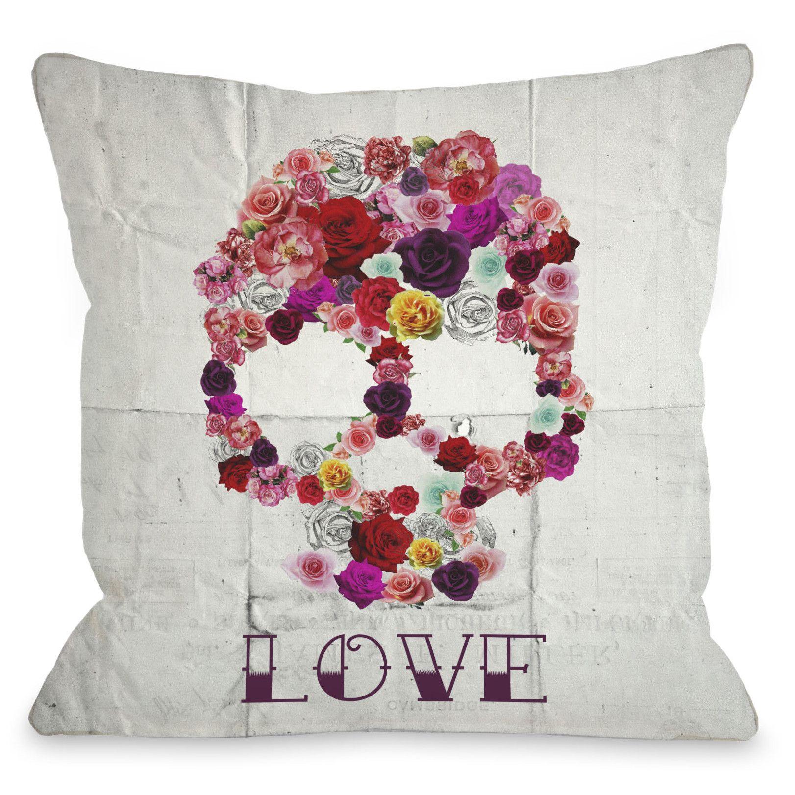 One Bella Casa Oliver Gal Bed of Roses Duvet Cover Collection | AllModern