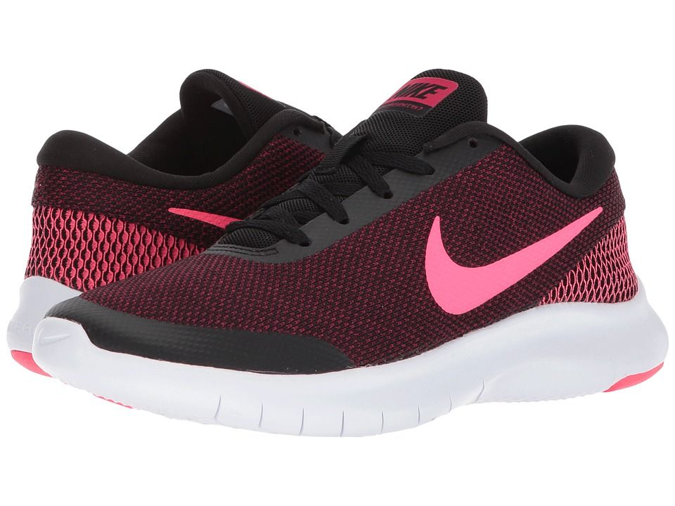 Nike Flex Experience RN 7 (Black Racer Pink Wild Cherry White) Women s  Running Shoes  hot 4182509a8