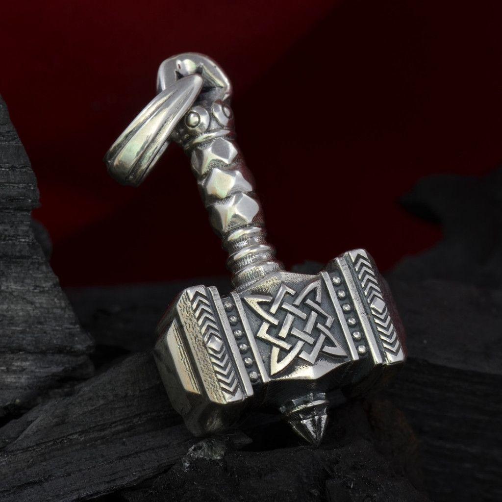 Sterling silver thors hammer pendant mjolnir thorshammerstore sterling silver thors hammer pendant mjolnir thorshammerstore mozeypictures Gallery