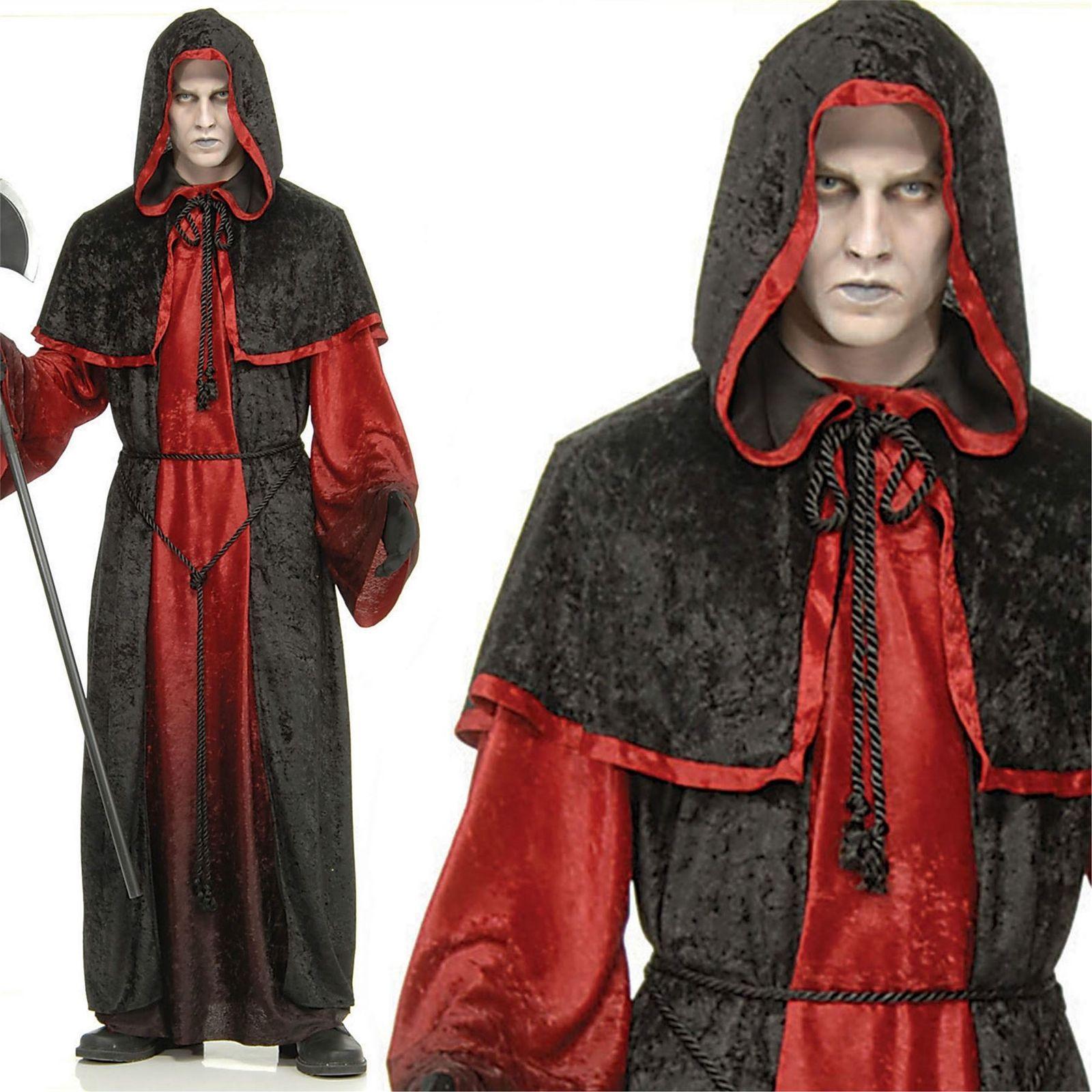 Gugel Brown Monk Hood Gugl Headpiece Shoulders Gugeln Schulterumhang