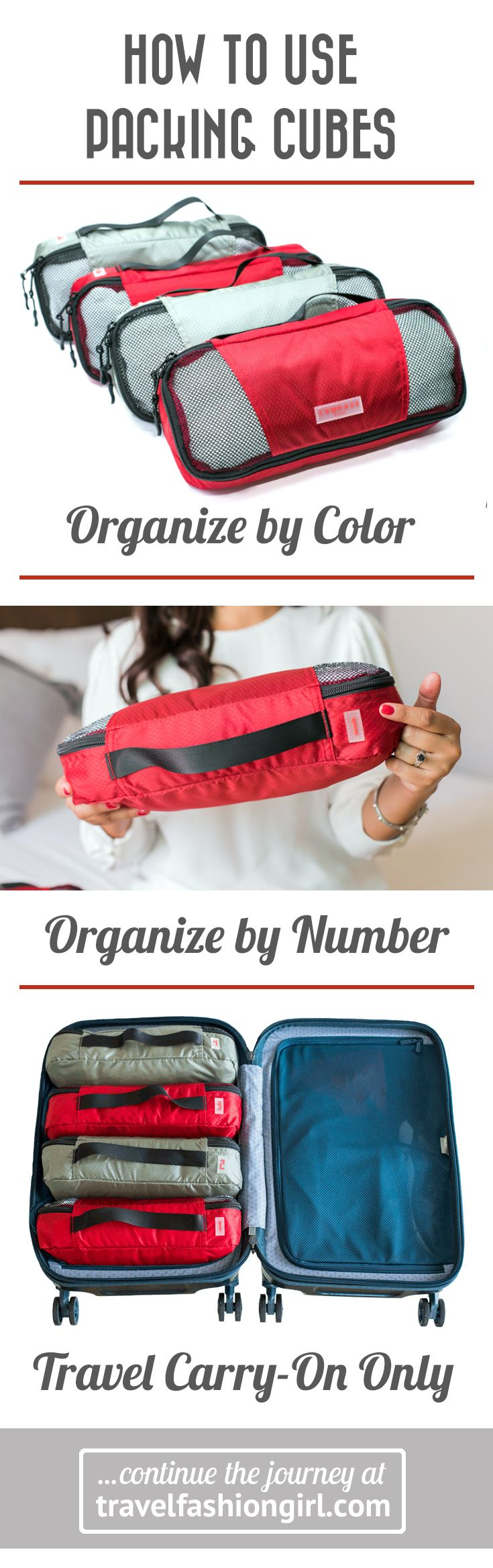 f3c3c224f33 Learn how to use Packing Cubes like a pro by using the UNIQUE Color    Numbered System