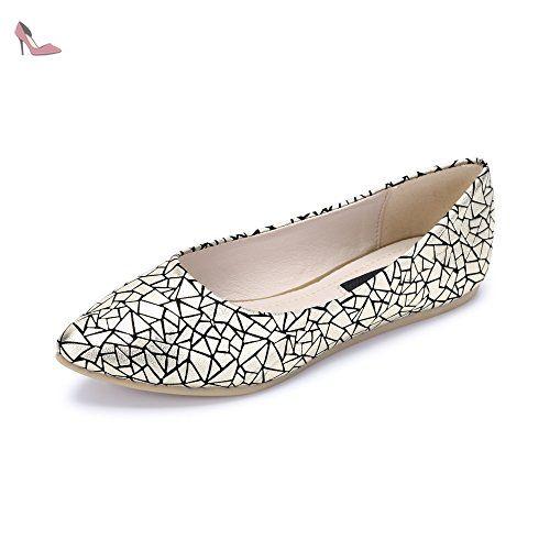 Femme Ballerines Plate Tete Pointu En PU Mode Simple Elegant Or-Asiatique 42- EU Taille 41 - Chaussures ochenta (*Partner-Link)