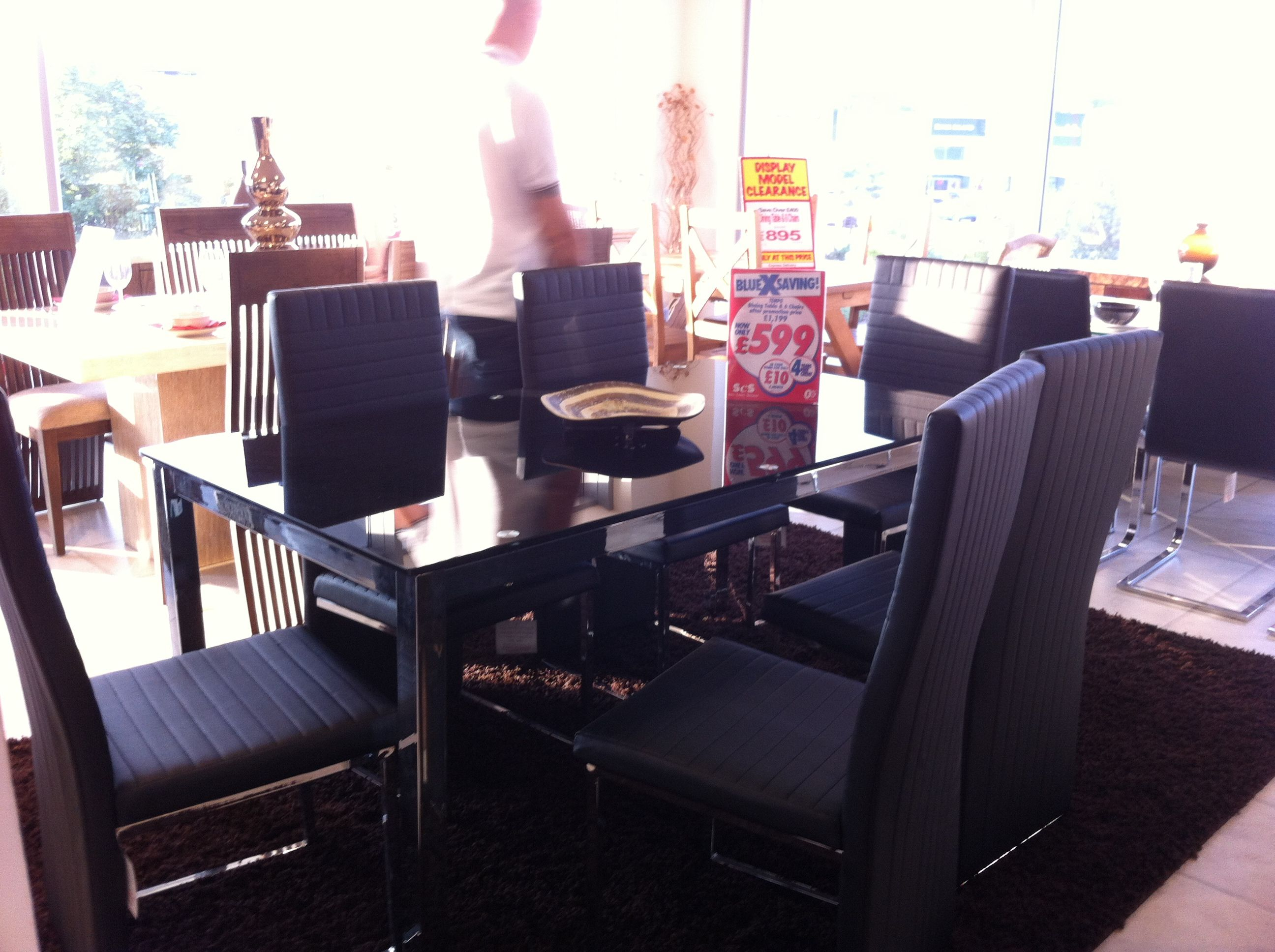 Scs Dining Table 6 Chairs 599 Room