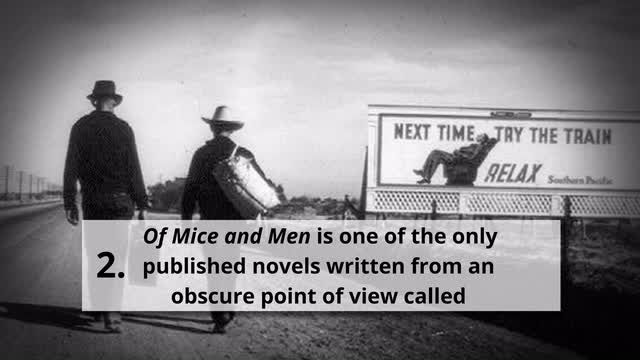 Essay questions of mice and men
