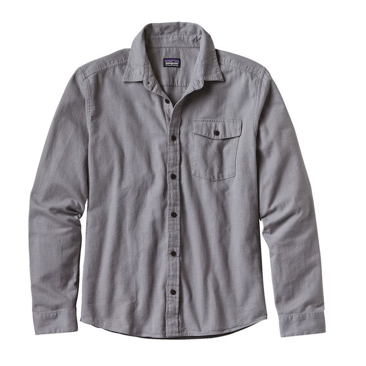 6f1cb6f94cc Men s Long-Sleeved Lightweight Fjord Flannel Shirt