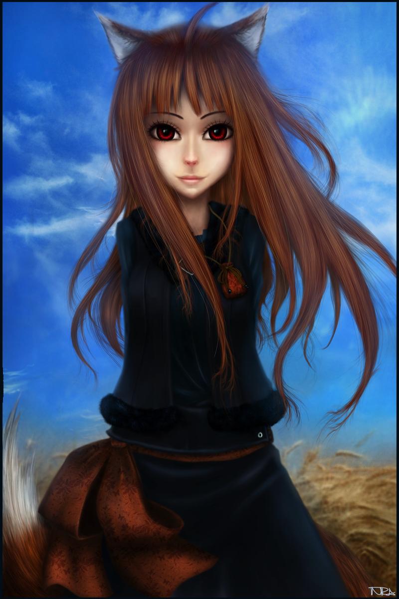 Spice and Wolf. Horo by Inira.deviantart.com on @deviantART
