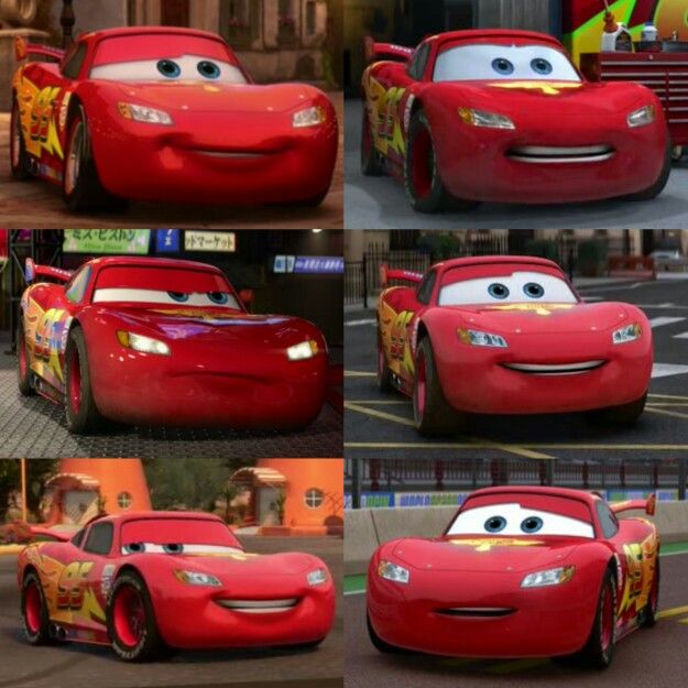 Lightning Mcqueen Revised Con Imagenes Imprimibles Cars