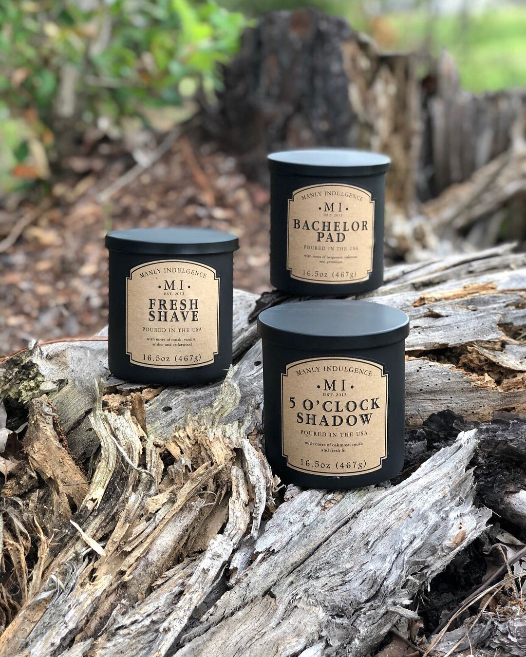 The Manly Indulgence Collection by Colonial Candle ...